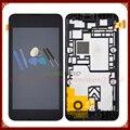 Для Nokia Lumia 530 ЖК-Экран С Сенсорным Экраном Дигитайзер Ассамблеи с Рамкой + Инструменты Бесплатная Доставка