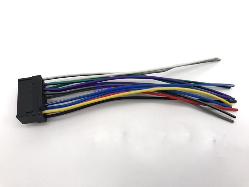 ISO Auto Audio Video Kabelbaum kabel für Sony JVC Auto Stereo Radio ...