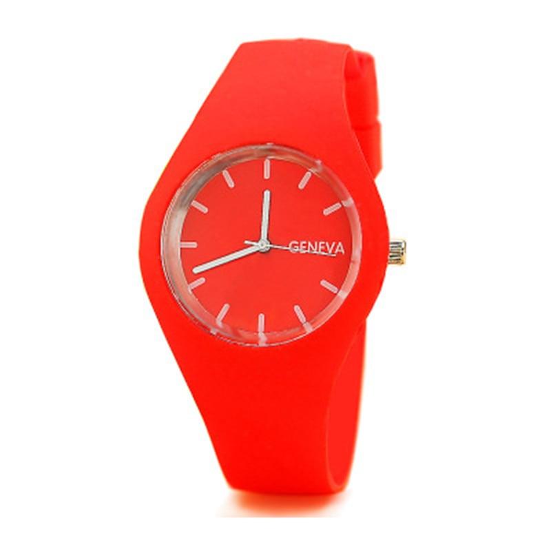 2019 New Fashion Classic Silicone Women Watch Simple Style Wrist Watch Silicone Rubber Casual Dress Girl Relogio Masculino Clock
