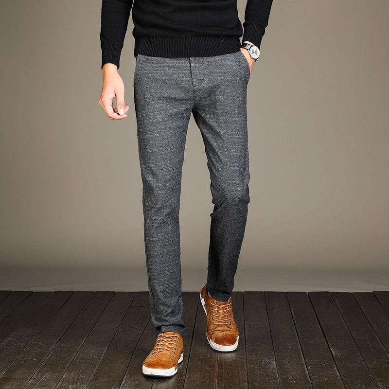 ICPANS Pants Full Length Cotton Pants Men regular Zipper men pants casual  mens business trousers pants men big size 34 36 38|pant casual man|men pants  casualbusiness pants men - AliExpress