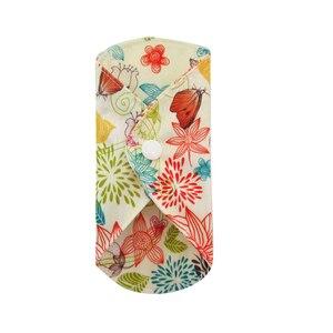 Image 5 - LECY ECO LIFE Health higiena kobieca bambusowa wkładka higieniczna, wielokrotnego użytku wodoodporne podpaski menstruacyjne 17*17cm