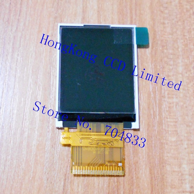 Z180N006 18 Inch TFT LCD Display 128160 8 Bit Parallel Port 20PIN IC
