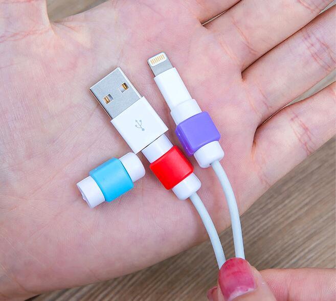 Veri hattı koruma case koruyucu kapak için şarj kablosu telefon - Evdeki Organizasyon ve Depolama - Fotoğraf 5