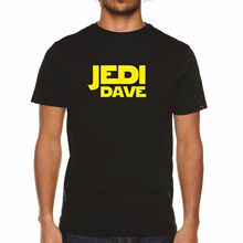 Jedi DAVE TShirt - Mens Star Wars Starwars Gift Present David Free shipping Harajuku Tops Fashion Classic Unique