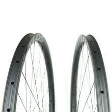 Novatec hubs 650b MTB Symmetric 24mm inner width XC Trail AM carbon wheelset - WM-i24-7-N