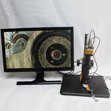 Cheap price Full HD 1080P 60fps HDMI Industrial Digital Microscope Camera+Optical 10X-200X C-mount Lens+LED Light+Fine-tune Repair Workbench