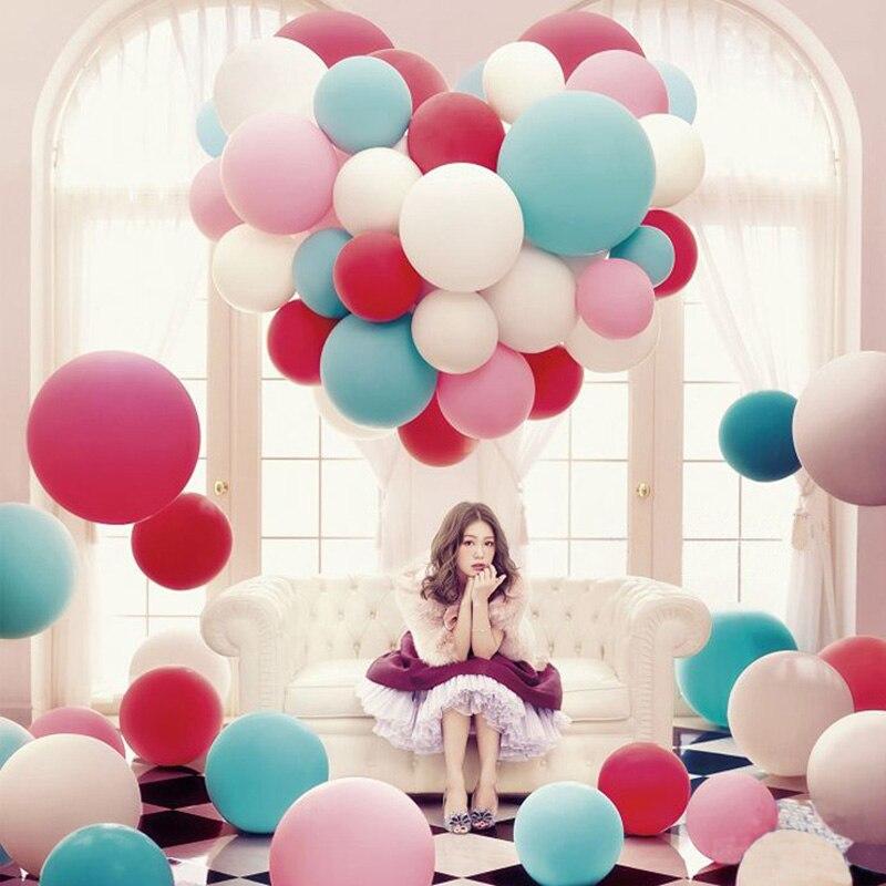 unids ltex del globo del partido decoracin de la boda de pulgadas de helio gigante grande grande gigante globos decoraci