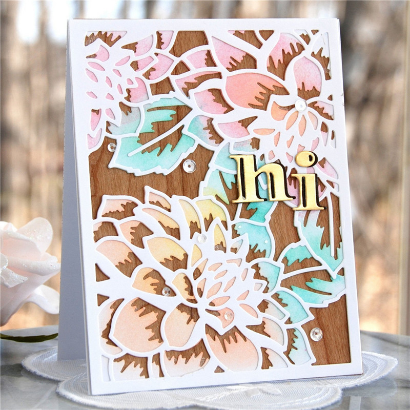 YaMinSanNiO Letters Alpahbet Metal Cutting Dies for Scrapbooking 2019 New DIY Album Card Making Decor Paper Craft
