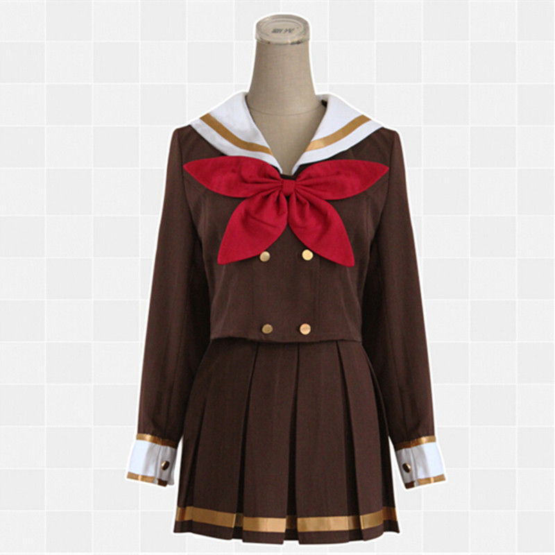 Hot Sell Anime No. did Wind Sounded! Oumae Kumiko Tanaka Uniforms Asuka Cosplay Costumes Sailor Suits School Uniforms Girl XH018