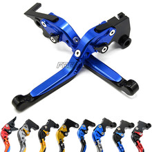 For Yamaha TDR250 TDR 250 1988-1992 Motorbike Accessories CNC Motorcycle Brake Clutch Levers Adjustable Foldable Extendable