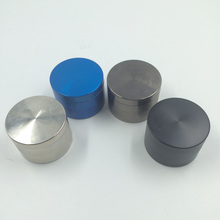4 Layers Smooth Surface Zinc Alloy Metal Herb Grinders Smoking Cigarettes Accessories Hookah Pipe Hand Muller Tobacco Grinder