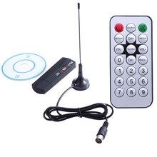 1 компл. Цифровой ТВ-тюнер USB 2,0 Dongle Stick TV SDR приемник RTL2832U + R820T DVB-T SDR + DAB + FM высокое качество с дистанционным управлением