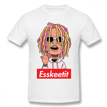 hot deal buy cartoon lilpump cartoon t-shirt men bonadiao big size t shirt 3d print 100% cotton breathable top design fashion