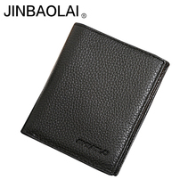 Mens Leather Wallet Credit Card Holders Driving License And Passport Holder Black Cow Wallets Purses