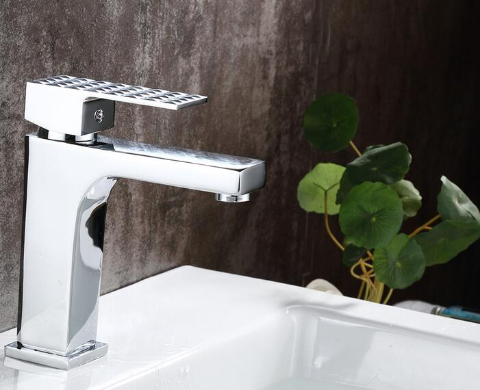 Bathroom single handle hot and cold water basin faucets kitchen bathroom accessories wash mixer tap