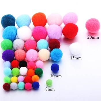 10 sztuk kolor 8mm 10mm 15mm 20mm okrągły filc Ball Pad pudełko na perfumy Making Aroma dyfuzor olejków eterycznych wisiorek medalion akcesoria