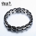 BEIER Unique Man's High Quality Stainless Steel Bracelet for Man BC8-028