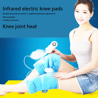 Health Electric far infrared heating pad 1 Pair Heating Knee Pads Warm fomentation Joint pain old rheumatism therapy instrument