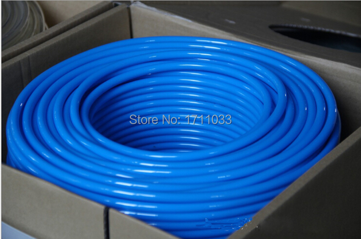 5/16 7.94mm*5mm*100m polyurethane pu pneumatic tube,air tubing