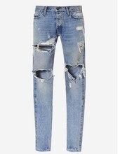 men s destroyed skinny ripped jeans denim jumpsuit designer jeans justin zipper hole hip hop jeans