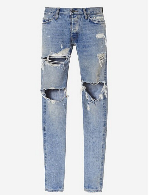 men s destroyed skinny ripped jeans denim jumpsuit designer jeans justin zipper hole hip hop jeans new brand hi street for men ripped biker jeans hip hop skinny slim fit black denim pants destroyed swag joggers kanye west