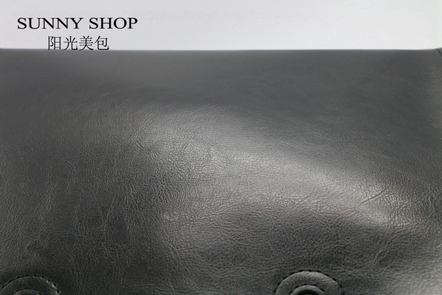 SUNNY SHOP High Quality 100% Genuine Leather Fashion Women Bag  Brand Designer Real Leather Bag