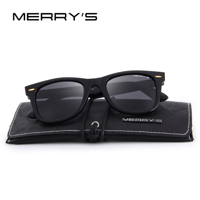 Unisex Classic Retro Rivet Polarized Sunglasses