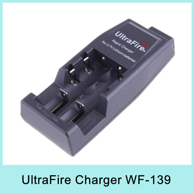 Hot Sale UltraFire 3.7V Battery Charger for 18650 14500 17500 18500 17670 Batteries WF-139 EU plug for Russia Drop Shipping