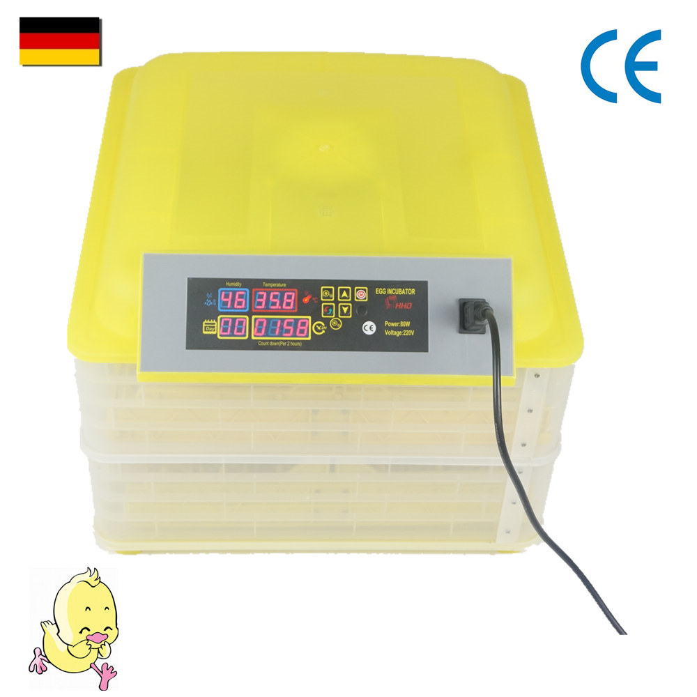 96 eggs Best designed intelligent full automatic poultry incubator reptile thermostat for sale incubator automatic parts automatic controller for sale xm 18
