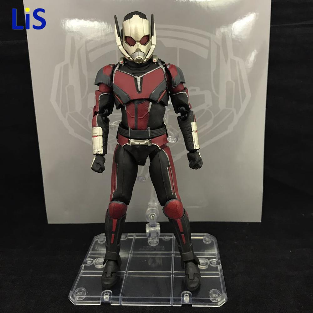 NEW hot 17cm avengers Ant-Man Black Panther movable Action figure toys doll collection Christmas gift new hot 22cm avengers super hero hulk movable action figure toys christmas gift doll with box