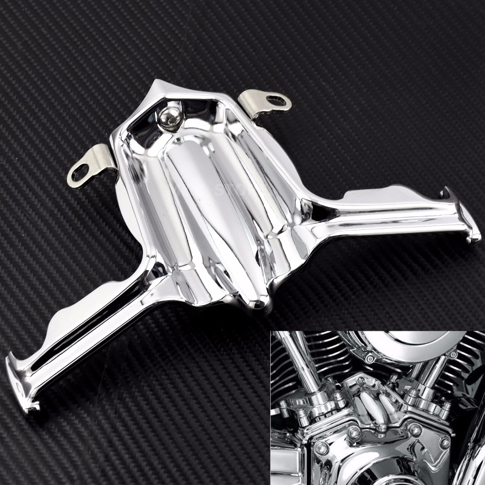 Chrome Finned Slotted Spark Plug Head Bolt Covers for Harley Touring Electra Glides Road Glides Road Kings 1999-2016,Street Glides /& Trikes 2009-2016