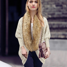 Batwing Coat Knitting Women's Pure Color of New Fund of 2015 Autumn Winters Sweater is Loose Cardigan