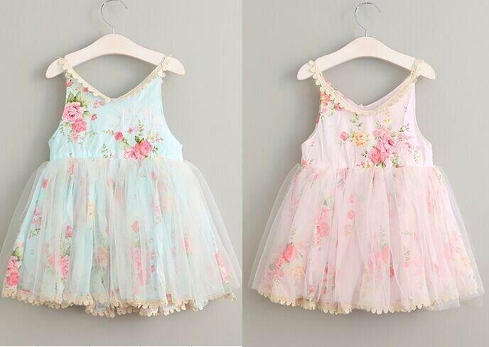 Лето 2017 г. девушка хлопок Кружево милое платье для маленьких девочек платье для девочек на день рождения элегантное милое платье для детей Д...