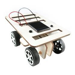 Nuovo assemblea diy Мини modello ди авто ди legno комплект на солнечных батареях per bambini giocattolo educativo дель regalo 100*70*50 мм piu
