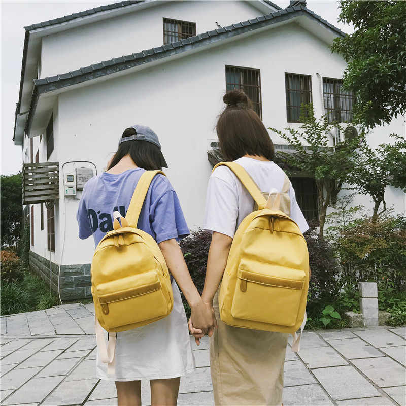 2019 Wanita Kanvas Ransel Wanita Bahu Tas Ransel Tas Sekolah Tas Ransel untuk Anak Perempuan Perjalanan Tas Fashion Bolsas Mochilas Sac Dos