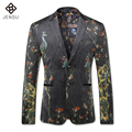 2016 Veste De Loisir Herren Anzug Terno Masculino Bleiser Hombre Groom Wedding Dress Suits Men's Casual Fashion Slim Fit Blazers