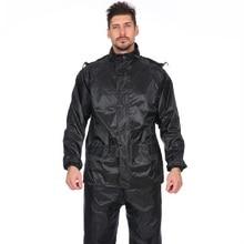 Outdoor Men Set Raincoat Pants Adult Hiking Rainwear Motorcycle Waterproof Windproof Suit Erkek Mont Kaban Lluvia XX30