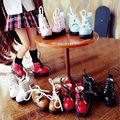 1 Pair Cute Mini 1/6 Martin Boots Blyth Doll Shoes, Suitable for Pullip, Licca, Azone, OB, 1/8BJD Doll