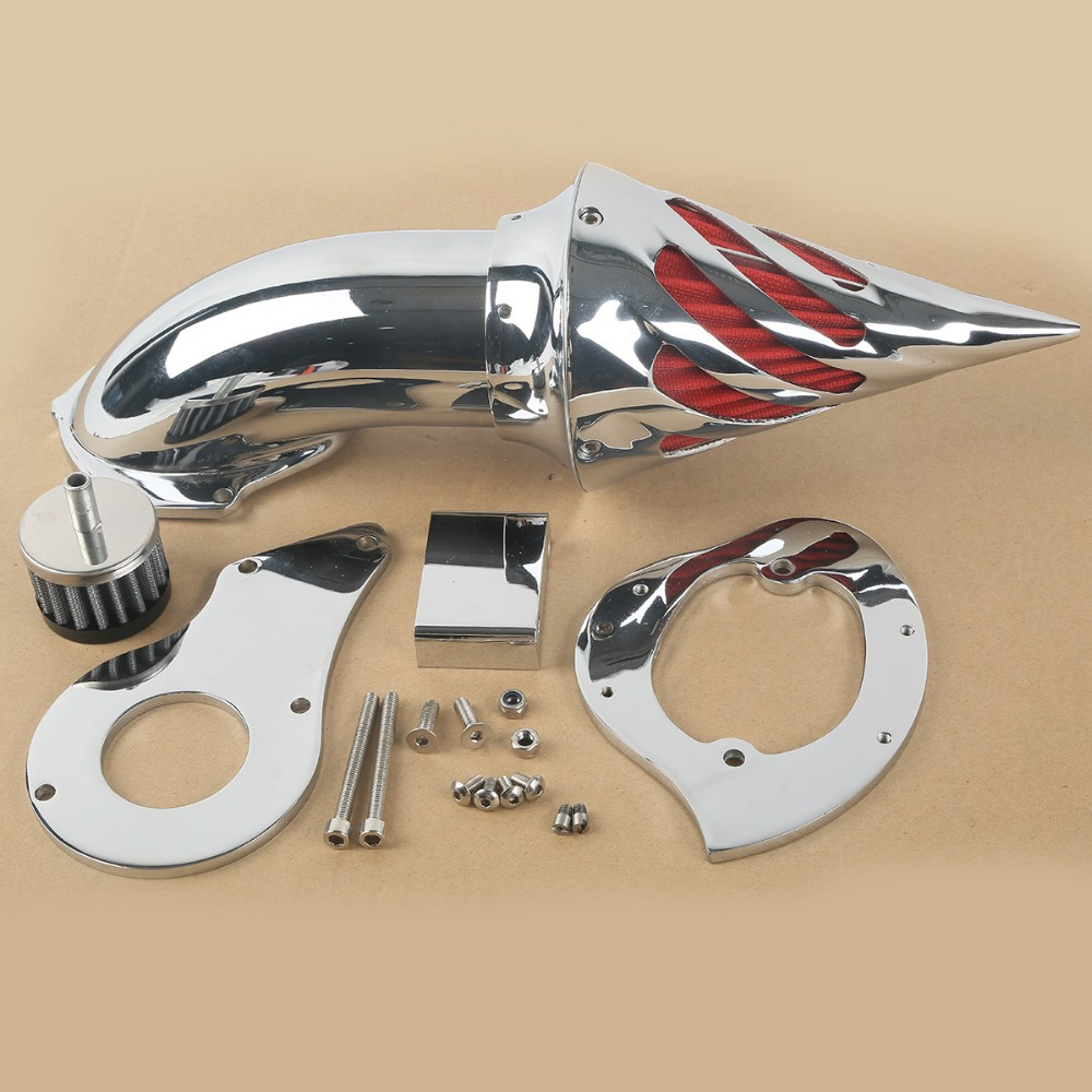 Chrome Air Cleaner Kits Intake Filter For Honda Shadow VLX 600 VLX600 1999 2012