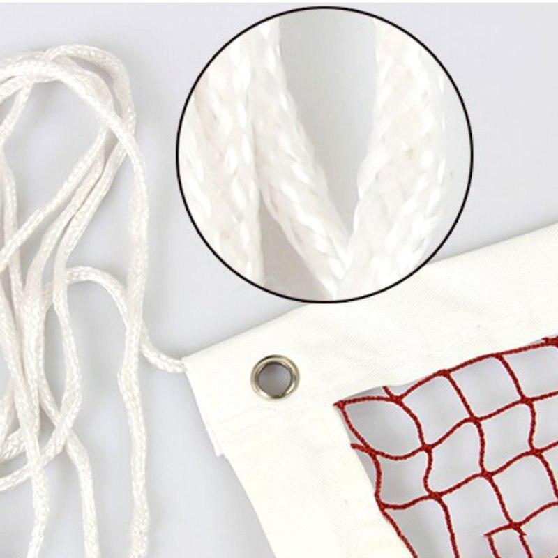 טניס נטו פוליפרופילן רשת פשוט סגנון נייד להסרה מלבני טניס אימון כלי
