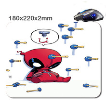 HOT SALES Custom Antiskid 3 D marvel babies 220 x180x2mm Office Accessory Tablet And mini PC Mouse Pad As Gift