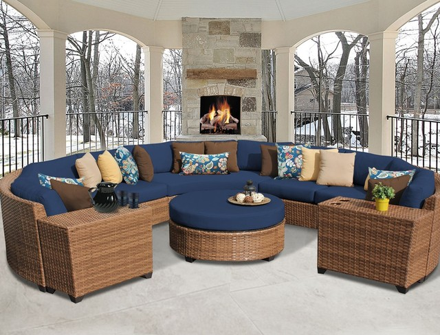 Sigma Hot Sale Led Deep Seating Used Wicker Patio Furniture For Sale