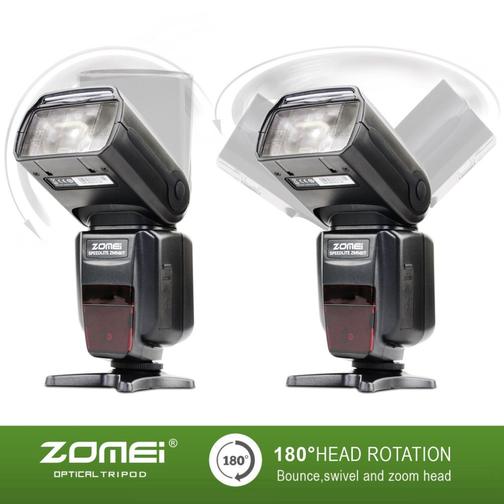 Zomei ZM560T Professional High Speed External Flash Flashlight Flashlite Speedlite With  ...
