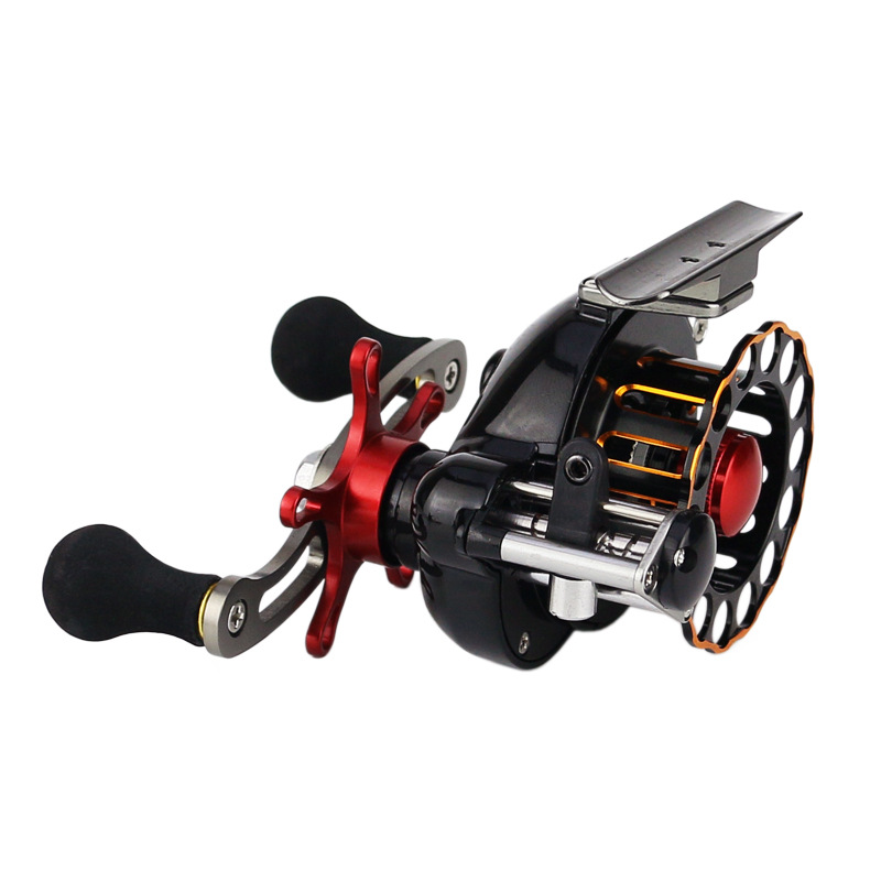 YUYU Full metal Fly Fishing reel 4+1BB Automatic cable Fish line wheel Gear ratio 3.6 :1 Left Right Hand Raft Ice Fishing Reel-in Fishing Reels from Sports & Entertainment    1
