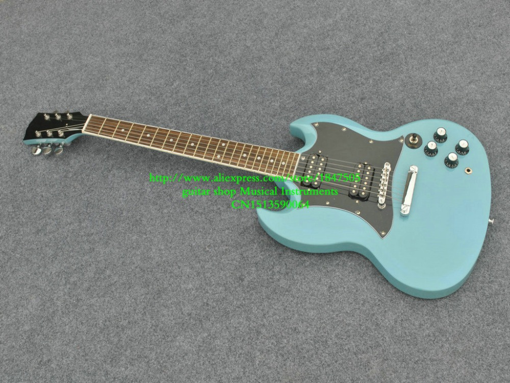 factory guitar best price custom shop blue electric guitar free shipping in guitar from sports. Black Bedroom Furniture Sets. Home Design Ideas