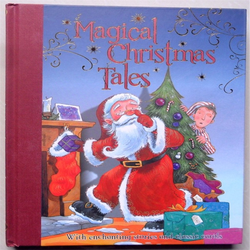 Magical Christmas Tales Learning & Education books For kids baby English Picture Book for Children1pcs Free shipping купить