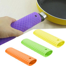 Silicon Pot Handle Holder Household Grip Sleeve Pan Handle Cover Heat Insulation Pan Handle Glove Unique