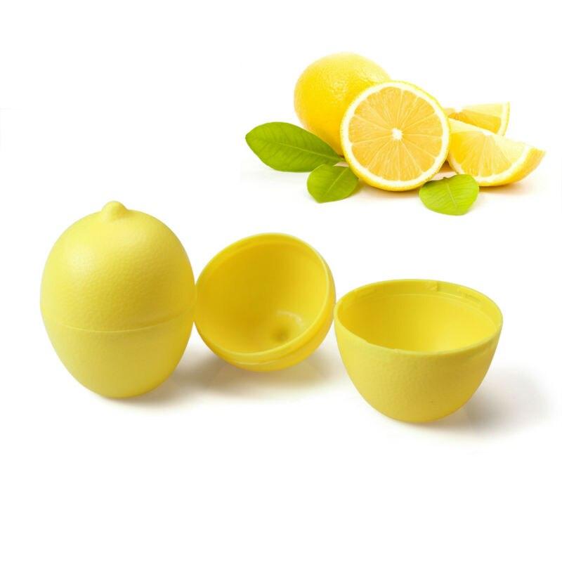 5 x Lemon Sealed Crisper Plastic Storage Refrigerator Food fruit (3)