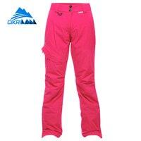 Cikrilan New Outdoor Sport Snow Thick Warm Pantalon Femme Snowboard Ski Pants Women Windstopper Anti Wear