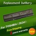 Jigu shiping livre bateria para toshiba pa3533u pa3533 pa3533u-1brs pa3535u-1bas pa3534u-1bas pabas098 pa3534u pa3534